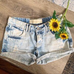 Damyller Jean Shorts